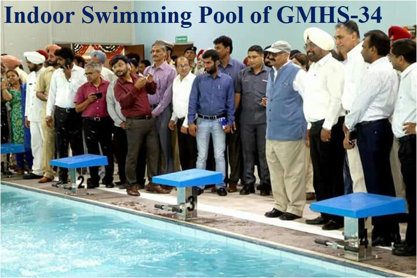 Indoor Swimming Pool of GMHS-34